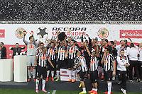 BELO HORIZONTE, MG, 23.07.2014 – RECOPA SUL-AMERICA 2014 – ATLETICO-MG X LANUS jogador do Atletico-MG durante jogo contra Lanus valido pela final da Recopa Sul-Americana 2014, no estádio Minerão, na noite desta Quarta-feira (23) (Foto: MARCOS FIALHO / BRAZIL PHOTO PRESS)
