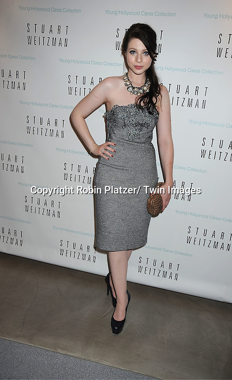 Michelle Trachtenberg  appearing at The Stuart Weitzman .Shoe Store on Madison Avenue in New York City for Fashion's Night Out on September 8, 2011.