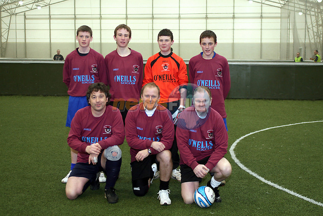 Drogheda School Childrens League Team at the 24 hour five a side football tournament in aid of Haiti...Photo NEWSFILE/Jenny Matthews.(Photo credit should read Jenny Matthews/NEWSFILE)....This Picture has been sent you under the condtions enclosed by:.Newsfile Ltd..The Studio,.Millmount Abbey,.Drogheda,.Co Meath..Ireland..Tel: +353(0)41-9871240.Fax: +353(0)41-9871260.GSM: +353(0)86-2500958.email: pictures@newsfile.ie.www.newsfile.ie.FTP: 193.120.102.198.