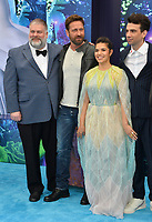 "LOS ANGELES, CA. February 09, 2019: Dean DeBlois, Gerard Butler, America Ferrera & Jay Baruchel at the premiere of ""How To Train Your Dragon: The Hidden World"" at the Regency Village Theatre.<br /> Picture: Paul Smith/Featureflash"