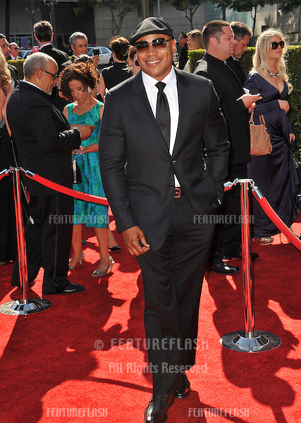 LL Cool J at the 2012 Primetime Creative Emmy Awards at the Nokia Theatre, LA Live..September 15, 2012  Los Angeles, CA.Picture: Paul Smith / Featureflash