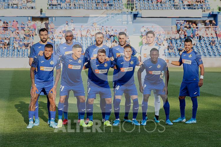 Team photo of Getafe CF during UEFA Europa League match between Getafe CF and Trabzonspor at Coliseum Alfonso Perez in Getafe, Spain. September 19, 2019. (ALTERPHOTOS/A. Perez Meca)