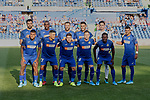 Team photo of Getafe CF during UEFA Europa League match between Getafe CF and Trabzonspor at Coliseum Alfonso Perez in Getafe, Spain. September 19, 2019. (ALTERPHOTOS/A. Perez Meca)