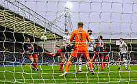 Preston North End's Andrew Hughes scores his side's goal <br /> <br /> Photographer Alex Dodd/CameraSport<br /> <br /> The Emirates FA Cup Third Round - Preston North End v Doncaster Rovers - Sunday 6th January 2019 - Deepdale Stadium - Preston<br />  <br /> World Copyright &copy; 2019 CameraSport. All rights reserved. 43 Linden Ave. Countesthorpe. Leicester. England. LE8 5PG - Tel: +44 (0) 116 277 4147 - admin@camerasport.com - www.camerasport.com