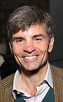 George Stephanopoulos attends 'The Play That Goes Wrong' Broadway Opening Night at the Lyceum Theatre on April 2, 2017 in New York City.
