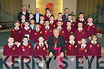 Fr Patsy Lynch who assisted the Bishop of Kerry Bill Murphy in the confirming of pupils from Holy Family School, Balloonagh on Friday in Our Lady & St Brendan's Church, Tralee................................... ....
