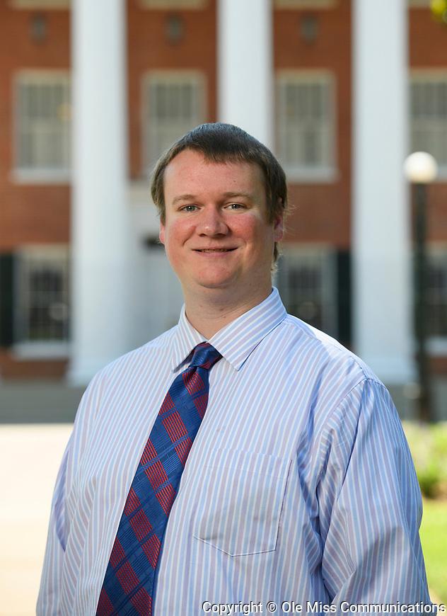 Eric Rexroat. Photo by Thomas Graning/Ole Miss Communications