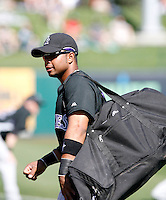 Wili Rosario - Colorado Rockies - 2009 spring training.Photo by:  Bill Mitchell/Four Seam Images