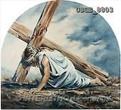 Dona Gelsinger, EASTER RELIGIOUS, paintings(USGE8803,#ER#) Ostern, religiös, Pascua, relgioso, illustrations, pinturas