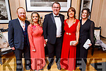 David O'Brien, Anna Buckley, Gary and Siobhan Meehan and Triona Daly attending the Scoil Eoin Valentine's Ball Fundraiser in the Ballygarry House Hotel on Friday night.