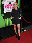 Cassie Scerbo attends The Weinstein Company L.A. Premiere of Vampire Academy held at The Premiere House at Regal Cinemas L.A. Live Stadium 14 in Los Angeles, California on February 04,2014                                                                               © 2014 Hollywood Press Agency