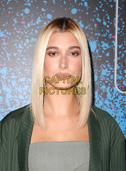 WEST HOLLYWOOD, CA - AUGUST 7: Hailey Baldwin, at the Carpool Karaoke: The Series on Apple Music Launch Party at Chateau Marmont in West Hollywood, California on August 7, 2017. <br /> CAP/MPI/FS<br /> &copy;FS/MPI/Capital Pictures