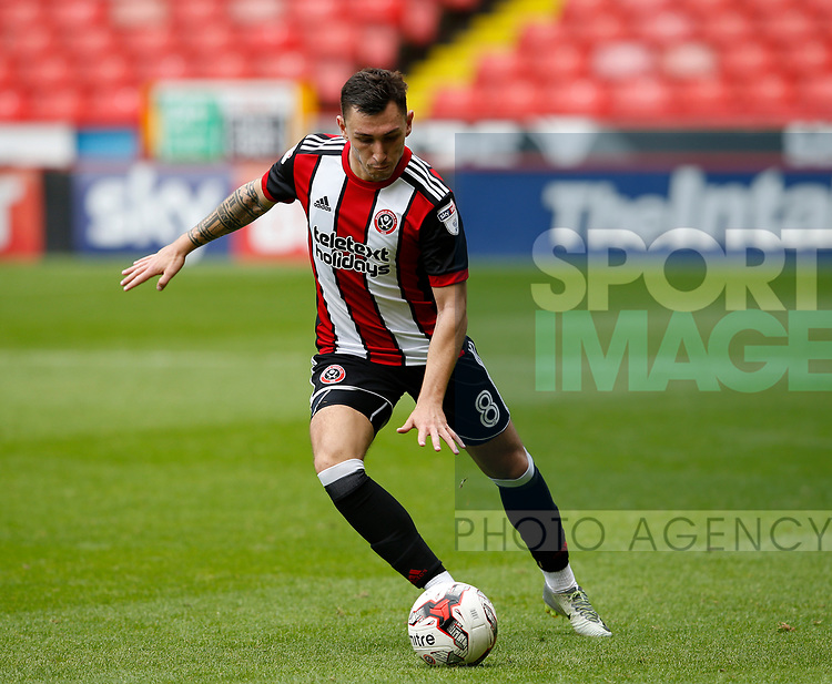 Nathan Thomas of Sheffield Utd  during the Professional Development U23 match at Bramall Lane, Sheffield. Picture date 4th September 2017. Picture credit should read: Simon Bellis/Sportimage