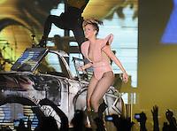 Rihanna performs live at Glasgow's Scottish Exhibition and Conference Centre (SECC), Scotland.......