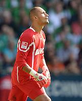 FUSSBALL   1. BUNDESLIGA   SAISON 2013/2014   2. SPIELTAG SV Werder Bremen - FC Augsburg       11.08.2013 Torwart Mohamed Amsif (FC Augsburg)