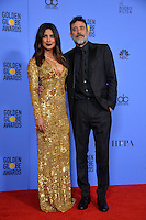Priyanka Chopra &amp; Jeffrey Dean Morgan at the 74th Golden Globe Awards  at The Beverly Hilton Hotel, Los Angeles USA 8th January  2017<br /> Picture: Paul Smith/Featureflash/SilverHub 0208 004 5359 sales@silverhubmedia.com
