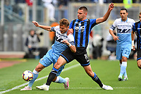 Ciro Immobile of Lazio and Berat Djimsiti of Atalanta compete for the ball <br /> Roma 5-5-2019 Stadio Olimpico Football Serie A 2018/2019 SS Lazio - Atalanta <br /> Foto Andrea Staccioli / Insidefoto