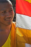 Wat Po Langkar, Monks at the Monastery, Siem Reap Cambodia