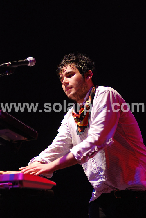**ALL ROUND PICTURES FROM SOLARPIX.COM**.**SYNDICATION RIGHTS FOR UK, SPAIN, PORTUGAL, AUSTRALIA, S.AFRICA & DUBAI (U.A.E) ONLY**.Vampire Weekend perform at the Bonnaroo Music and Arts Festival 2008 - June 12-15, 2008 Manchester, IL, USA. 12th June 2008..JOB REF: 6643 PHZ/Adam Bielawski    .DATE: 12_06_2008.**MUST CREDIT SOLARPIX.COM OR DOUBLE FEE WILL BE CHARGED* *UNDER NO CIRCUMSTANCES IS THIS IMAGE TO BE REPRODUCED FOR ANY ONLINE EDITION WITHOUT PRIOR PERMISSION*