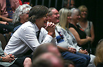 Friends and family share stories at a ceremony honoring the late Marilee Swirczek at Western Nevada College in Carson City, Nev., on Thursday, July 28, 2016. <br />