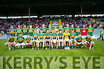 The Kerry team who played Cork in the Munster Junior Final at Austin Stack Park on Wednesday Evening.