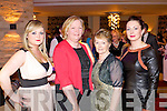 Pictured at Kerry Fashion Weekend Fashion Show on Friday night in the Carlton hotel, Tralee were l-r:
