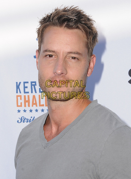 11 August 2016 - Los Angeles, California. Justin Hartley. Clayton Kershaw's 4th Annual Ping Pong 4 Purpose Celebrity Tournament held at Dodger Stadium. <br /> CAP/ADM/BT<br /> &copy;BT/ADM/Capital Pictures