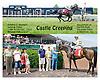 Castle Creeping winning at Delaware Park on 6/9/12