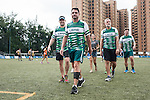 CBRE team after a match during Swire Touch Tournament on 03 September 2016 in King's Park Sports Ground, Hong Kong, China. Photo by Marcio Machado / Power Sport Images