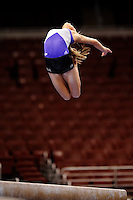 6/18/08 - Photo by John Cheng for USA Gymnastics.  Women Podium Training in Wachovia Center in Philadelphia.