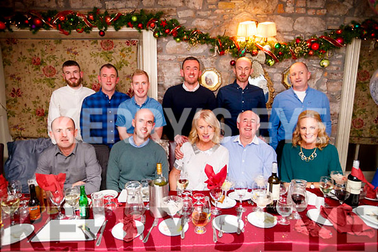 Stephanie O'Shea, Skehanagh Cross, Tralee,who celebrated her 70th birthday in Cassidy's restaurant, Tralee on Saturday night last. Front l-r: Paudie, Shane, Stephanie, Paddy and Adrienne O'Shea. Back l-r: Craig, Gerard, Rory, Stephen, Graham and Mark O'Shea.