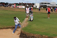 Eri Okayama (JPN) on the 2nd during Round 3 of the Ricoh Women's British Open at Royal Lytham &amp; St. Annes on Saturday 4th August 2018.<br /> Picture:  Thos Caffrey / Golffile<br /> <br /> All photo usage must carry mandatory copyright credit (&copy; Golffile   Thos Caffrey)