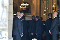 ObsËques de LILIANE BETTENCOURT - 26/9/2017 - Eglise Saint-Pierre - Neuilly-sur-Seine - France.