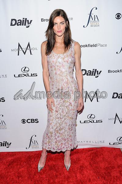 08 September 2016 - New York, New York- Hilary Rhoda. Daily Front Row's Fourth Annual Fashion Media Awards. Photo Credit: Mario Santoro/AdMedia