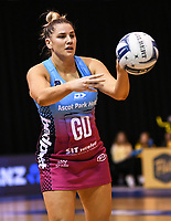 4th July 2020, Auckland, New Zealand;  Te Huinga Selby-Rickit.<br /> Central Pulse versus Southern Steel. ANZ Premiership Netball. Auckland Netball Centre, Saturday 4 July 2020.