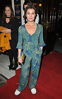 Helen McCrory at the Oslo gala night, Harold Pinter Theatre, Panton Street, London, England, UK, on Wednesday 11 October 2017.<br /> CAP/CAN<br /> &copy;CAN/Capital Pictures
