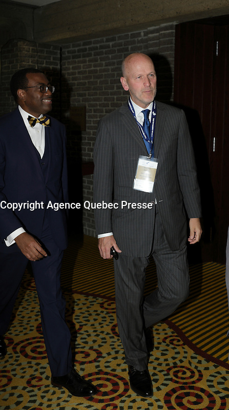 Michael Fortier<br />   attend the 22nd edition of the Conference of Montreal, held June 13 to 15, 2016<br /> <br /> PHOTO : Pierre Roussel -  Agence Quebec Presse