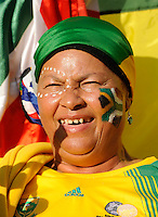 South Africa fans during the opening ceremony