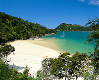 New Zealand, South Island, Abel Tasman National Park: Stilwell Bay Beach | Neuseeland, Suedinsel, Abel Tasman National Park: Stilwell Bay Beach