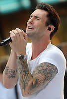 Adam Levine of Maroon 5 in concert - New York