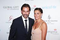 ROBERT ET JESSICA PIRES - GLOBAL GIFT GALA 2016 AU FOUR SEASON HOTEL GEORGE V PARIS
