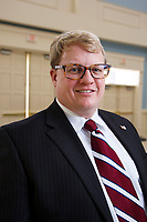 Chris Huseman from the School of Business is pictured on January 19, 2018. (Photo by Jessie Rogers)