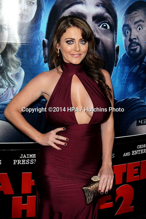 """LOS ANGELES - APR 16:  Kirsty Hill at the """"A Haunted House 2"""" World Premiere at Regal 14 Theaters on April 16, 2014 in Los Angeles, CA"""