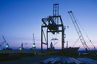 Container crane, Halifax, NS, Canada