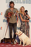 Ana Fernadez and Adrian Roma during Premiere Mascotas 2 at Autocine Madrid Race on July 18, 2019 in Madrid, Spain.<br />  (ALTERPHOTOS/Yurena Paniagua)