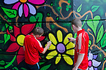 Bridge of Peace Florale Mural 29-07-11