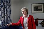 Nederland, Amsterdam, 1 november 2017.<br /> <br /> Julia Samuel (1959) is als psychotherapeut gespecialiseerd in rouw en verlies. Ze begeleidt individuen en gezinnen, zowel vanuit haar eigen praktijk als in een ziekenhuis in Londen. In 1994 richtte zij Child Bereavement UK op. Rouwwerk is haar eerste boek. (Bron: Uitgeverij Balans)<br /> Foto: Jean-Pierre Jans<br /> <br /> The Netherlands, Amsterdam, 1 november 2017 <br /> Julia Samuel is a psychotherapist specialising in grief and worked as a bereavement counsellor in the NHS paediatrics department of St Mary's Hospital, Paddington, where she pioneered the role of maternity and paediatric psychotherapist. In 1994 she worked to help launch and establish Child Bereavement UK (founded as the Child Bereavement Trust), and as Founder Patron, continues to play an active role in the charity.<br /> Julia's first book: Grief Works: Stories of Life, Death and Surviving, was published in 2017. (Source:Wikipedia)<br /> <br /> Photo: Jean-Pierre Jans