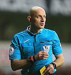 Referee Roger East in action<br /> <br /> Barclays Premier League- Tottenham Hotspur vs Newcastle United - White Hart Lane - England - 13th December 2015 - Picture David Klein/Sportimage
