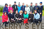 The castleisland team who competed in the Mixed Foursomes competition in Killorglin Golf Club on Saturday were Anne Hanafin, Liz Downey, Margaret Moloney, Maria O'Connor, Maire Geaney, Jane Dwyer, Leila Moloney, Ann Stuart, Geraldine Collins, David O'Donoghue, Brian Lenihan, John Haugh, Margaret Sheehan, Mike Brosnahan, Denis Donovan and Liz Galway.