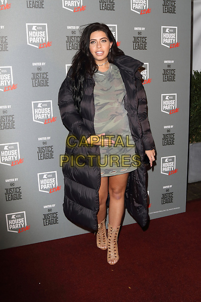 Cara De La Hoyde at the KISS House Party at SSE Arena Wembley, London on Thursday 26 October 2017<br /> CAP/ROS<br /> &copy;ROS/Capital Pictures